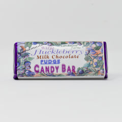 Wild Huckleberry Milk Chocolate Bar
