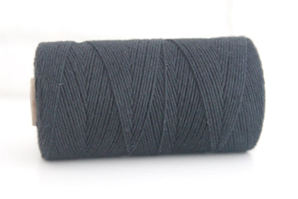 Divine Twine™ Solid Black Twine for Crafts, Scrapbooks and Packaging