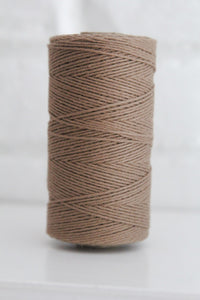 Divine Twine™ Solid Brown Cotton Twine for Crafts, Scrapbooks and Packaging