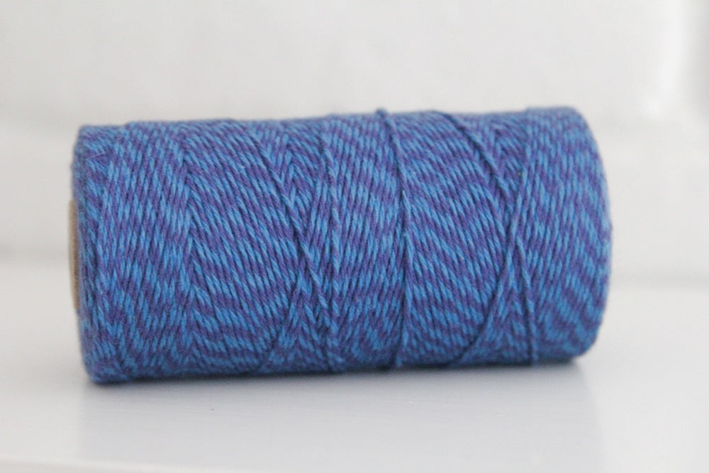Divine Twine™ Deep Denim Mix Cotton Twine for Crafts, Scrapbooks and Packaging