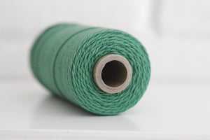 Divine Twine™ Solid Palos Verdes Cotton Twine for Crafts, Scrapbooks and Packaging