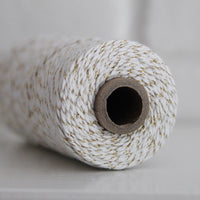 Divine Twine™ Gold Metallic Twine for Crafts, Scrapbooks and Packaging