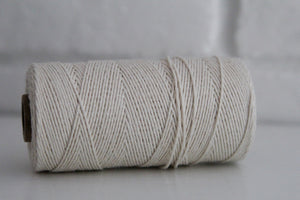 Divine Twine™ Natural Cotton Twine for Crafts, Scrapbooks and Packaging