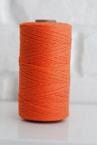 Divine Twine™ Solid Orange Twine for Crafts, Scrapbooks and Packaging