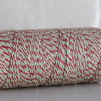 Divine Twine™ Holiday Twist Cotton Twine for Crafts, Scrapbooks and Packaging