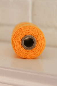 Twinery Solid Marigold Cotton Twine for Crafts, Scrapbooks, and Packaging