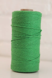 Twinery Solid Peapod Cotton Twine for Crafts, Scrapbooks and Packaging