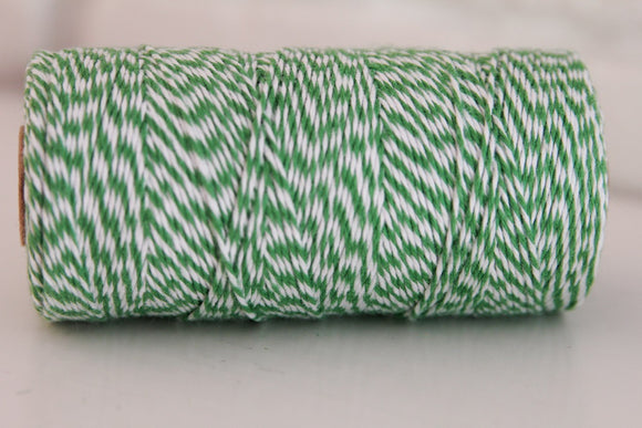 Twinery Striped Peapod Cotton Twine for Crafts, Scrapbooks and Packaging