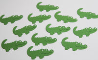 Momma Alligator Die Cut Shapes for Crafts, Confetti and Scrapbooks, Classroom Activities