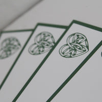 Celtic Heart All Occasion Note Card Set, Celtic Wedding Thank You Cards