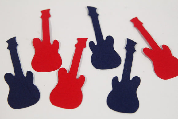 Guitar Die Cut Shapes, Scrapbooking Crafts Classroom Guitar Shapes