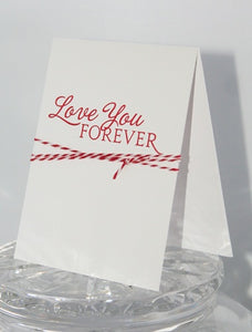 Love You Valentine's Day Card, Wedding Card, Anniversary Card