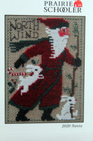 Prairie Schooler Santa 2020 Cross Stitch Pattern