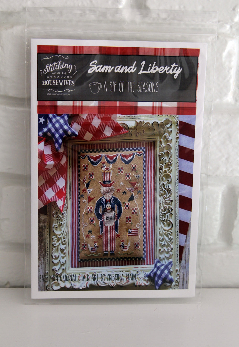 Sam and Liberty Cross Stitch Chart Stitching With the Housewives
