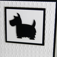 Scottie Dog All Occasion Thinking of You Greeting Card. Dog Lovers Card