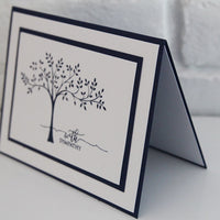 Flowy Tree With Sympathy Greeting Card, Thinking of You During Difficult Times Card