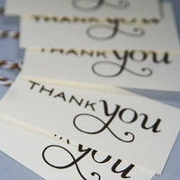 Thank You Gift Tags, Wedding Shower Party Favor Tags