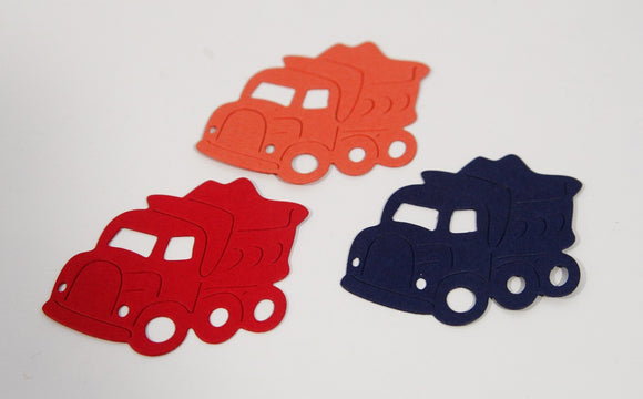 Die Cut Trucks Birthday Party Decor Scrapbooking Classroom Crafts