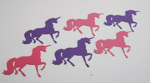 Prancing Unicorn Die Cut Shapes for Scrapbooks, Classroom Crafts, Birthday Party Decorations