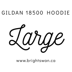 Gildan Hoodie - G18500 - Forest Green - ENDS Monday overnight - Ready to ship Friday