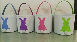 Easter Bunny print Bucket - Extras - Ready to ship late March