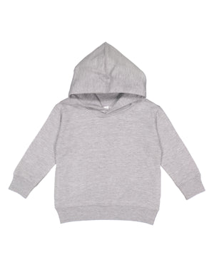 Rabbit Skins Toddler Hoodie - 3326 - Heather Grey - ENDS MONDAY OVERNIGHT - READY TO SHIP FRIDAY