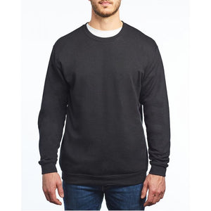 M&O - Unisex Crewneck Fleece - 3340 - Black - ends Monday night overnight - ready to ship Friday