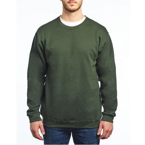 M&O - Unisex Crewneck Fleece - 3340 - Forest Green - ends Monday night overnight - ready to ship Friday