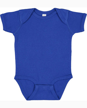 Rabbit Skins Infant Baby Rib Bodysuit - ROYAL BLUE - ENDS Monday overnight - Ready to ship Friday