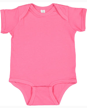 Rabbit Skins Fine Jersey Bodysuit - 4424 - HOT PINK - Ends Monday Overnight - Ready to ship Friday