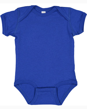Rabbit Skins Fine Jersey Bodysuit - 4424 - ROYAL - Ends Monday Overnight - Ready to ship Friday