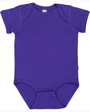 Rabbit Skins Fine Jersey Bodysuit - 4424 - PURPLE - Ends Monday Overnight - Ready to ship Friday