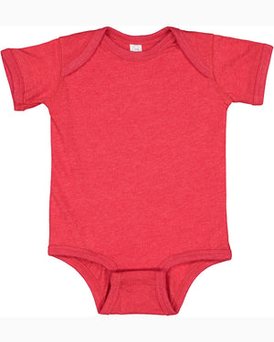 Rabbit Skins Fine Jersey Bodysuit - 4424 - VINTAGE RED - Ends Monday Overnight - Ready to ship Friday