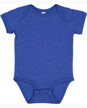 Rabbit Skins Fine Jersey Bodysuit - 4424 - VINTAGE ROYAL - Ends Monday Overnight - Ready to ship Friday