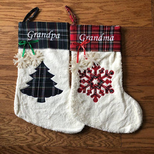 Paw matching human stocking - ENDS Oct 4 - READY TO SHIP MID NOV