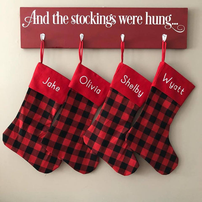 Stocking - New Plaid - ENDS SEPT 20 - READY TO SHIP EARLY NOV