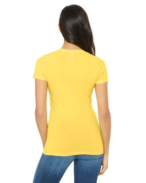 Bella + Canvas Slim Fit T-Shirt B6004 - YELLOW - ENDS MONDAY OVERNIGHT - READY TO SHIP FRIDAY