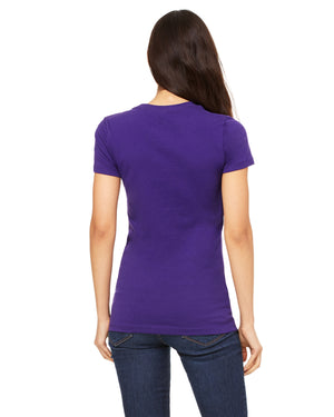 Bella + Canvas Slim Fit T-Shirt B6004 - TEAM PURPLE - COMING SOON