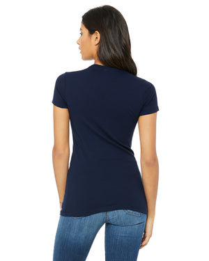 Bella + Canvas Slim Fit T-Shirt B6004 - NAVY - COMING SOON