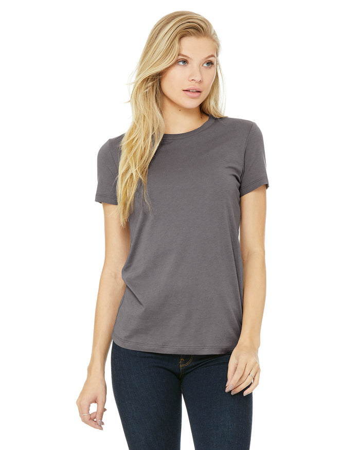 Bella + Canvas Slim Fit T-Shirt B6004 - STORM - ENDS Monday overnight - Ready to ship Friday