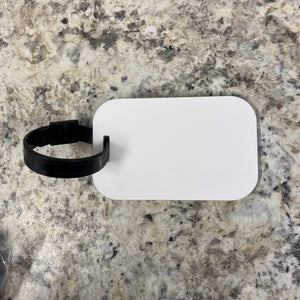 Sublimation Luggage Tags - MDF - Rectangular - ready to ship Dec 14