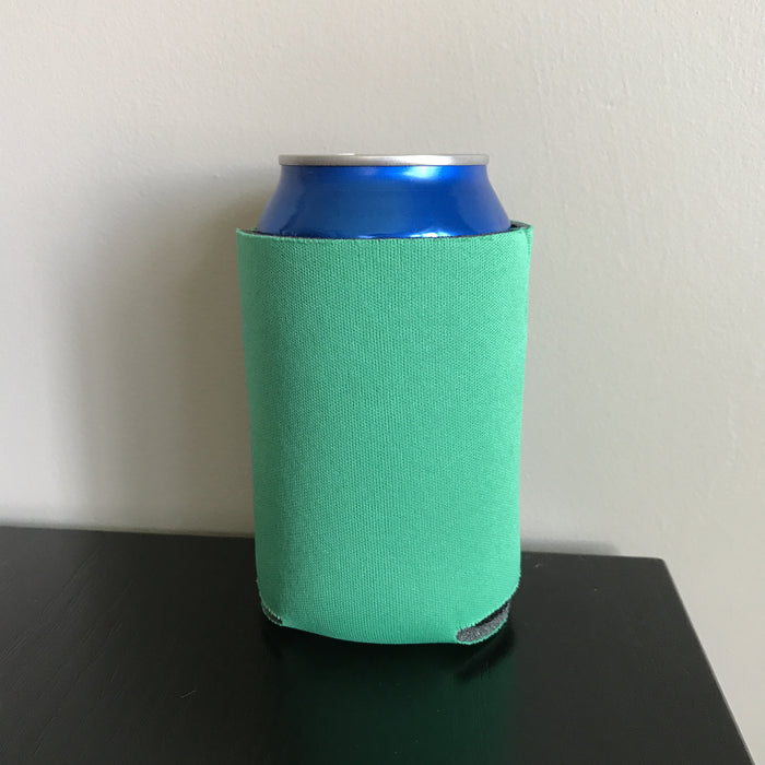 12oz can koozies - emerald green