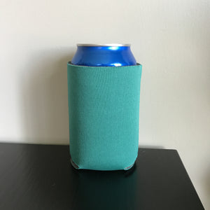 12oz can koozies - teal