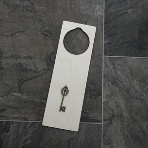 Wooden door hanger - blank