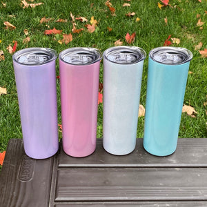 20oz skinny steel for sublimation - iridescent options