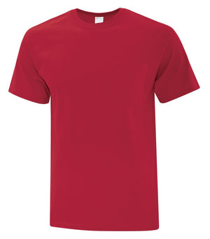ATC EVERYDAY COTTON POCKET TEE - ATC1000P - Red - ENDS MONDAY OVERNIGHT - READY TO SHIP FRIDAY