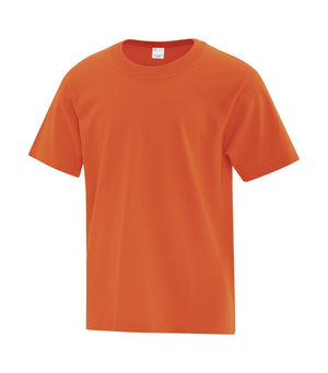 ATC EVERYDAY COTTON YOUTH TEE - ATC1000Y - Orange - ENDS MONDAY OVERNIGHT - READY TO SHIP FRIDAY