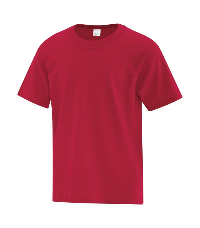 ATC EVERYDAY COTTON YOUTH TEE - ATC1000Y - Red - ENDS MONDAY OVERNIGHT - READY TO SHIP FRIDAY
