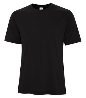 ATC PRO SPUN TEE - ATC3600 - BLACK - ENDS MONDAY OVERNIGHT - READY TO SHIP FRIDAY