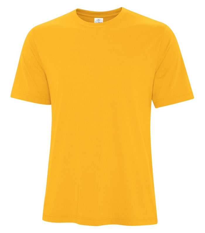 ATC PRO SPUN TEE - ATC3600 - GOLD - ENDS MONDAY OVERNIGHT - READY TO SHIP FRIDAY